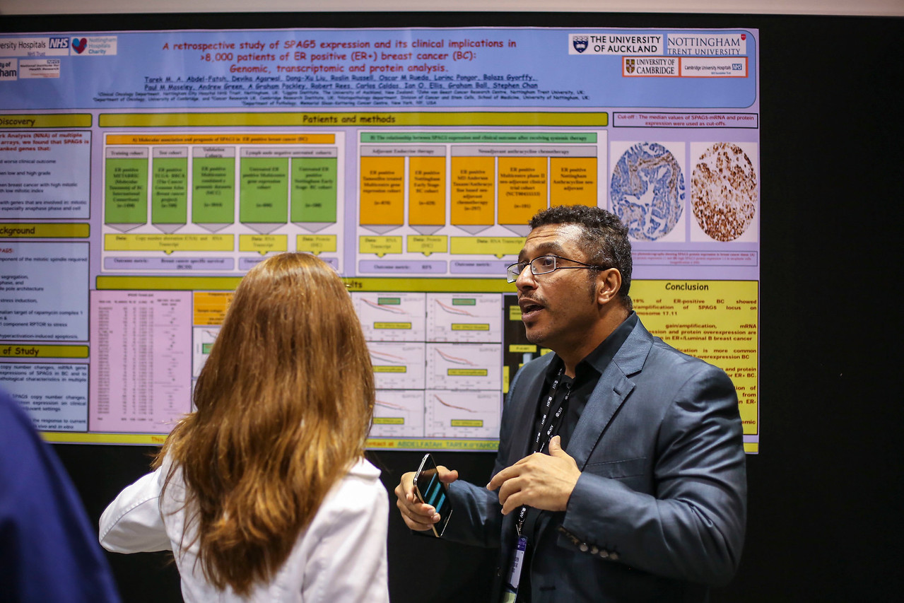 General views during Breast Cancer Poster Session