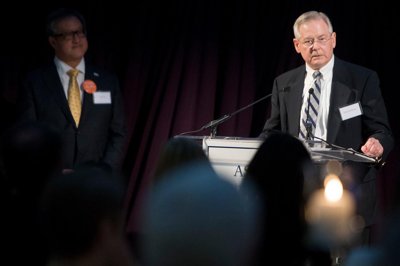Special Award Presentations during President's Dinner