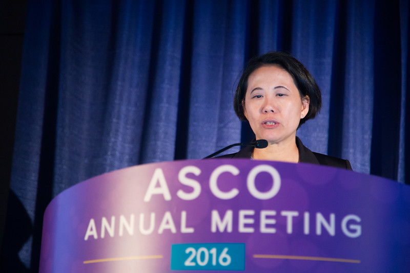 Speakers during ASCO/American Association for Cancer Research (AACR) Joint Session: The Next Frontier of Genomics in the Clinic and Clinical Trials