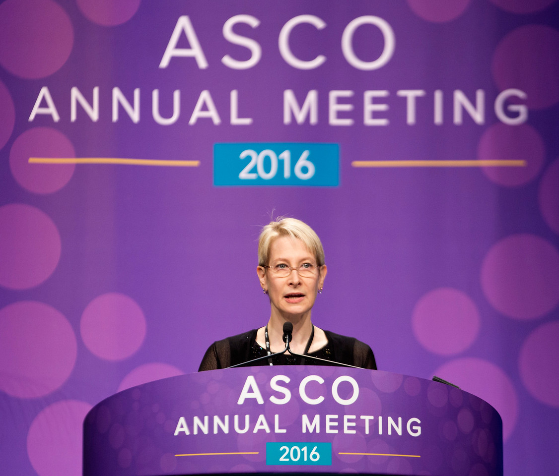 Maura N. Dickler, MD, presents Abstract 510 during Future Directions in Breast Cancer Treatment: New Drugs, New Markers