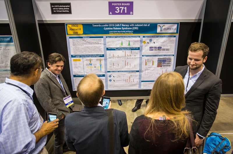 Poster Presenters during Developmental Therapeutics Poster Session