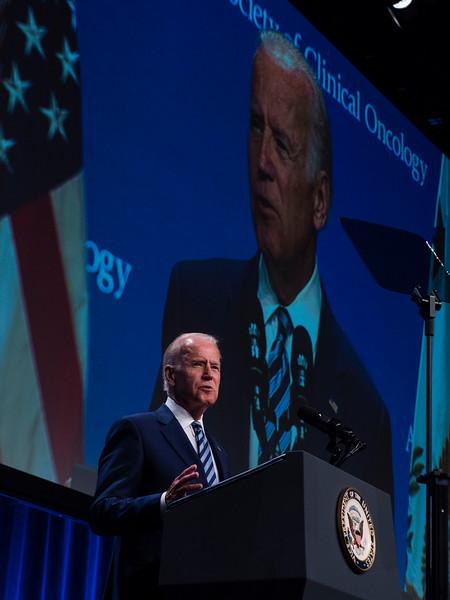 Vice President Joe Biden speaks during a plenary session