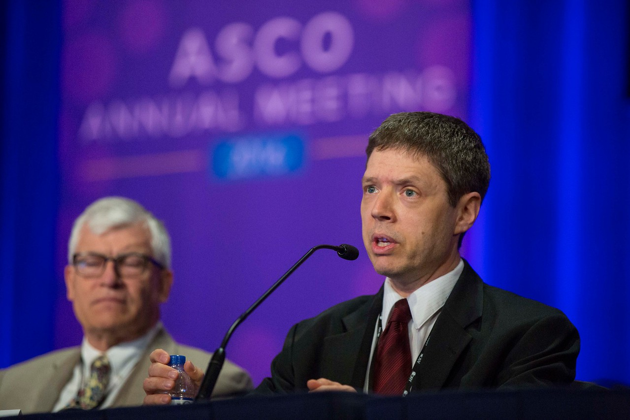 Jeffrey E. Lancet, MD, discusses Abstract 7000 during Hematologic Malignancies? Leukemia, Myelodysplastic Syndromes, and Allotransplant Oral Abstract Session