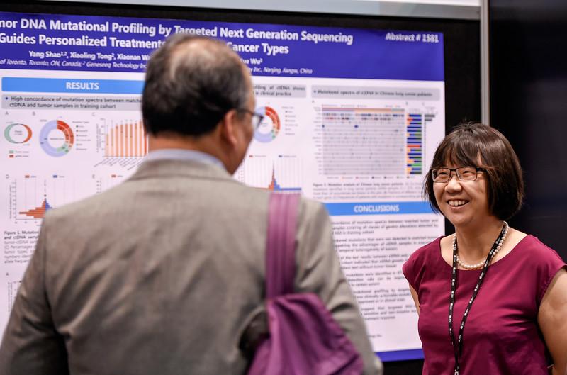Poster Presenters during Cancer Prevention, Hereditary Genetics, and Epidemiology Poster Session