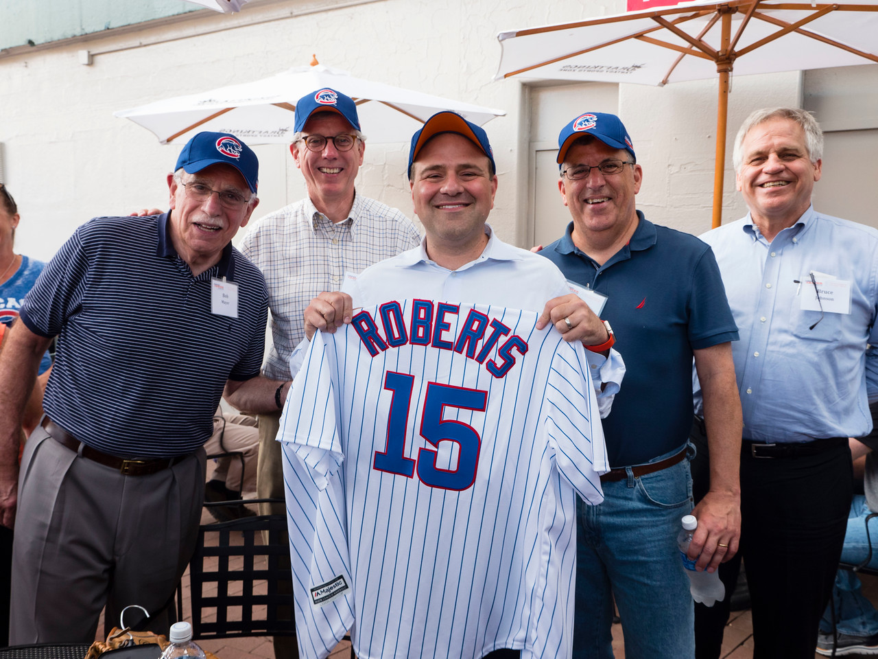 Attendees during Conquer Cancer Day at Wrigley Field