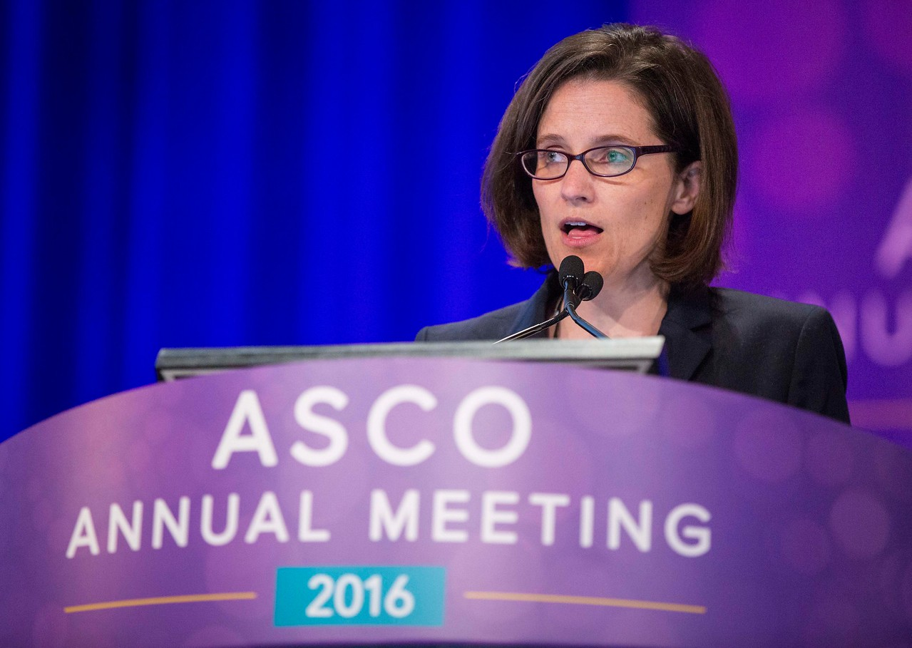 Noelle V. Frey, MD, presents during Hematologic Malignancies? Leukemia, Myelodysplastic Syndromes, and Allotransplant Oral Abstract Session