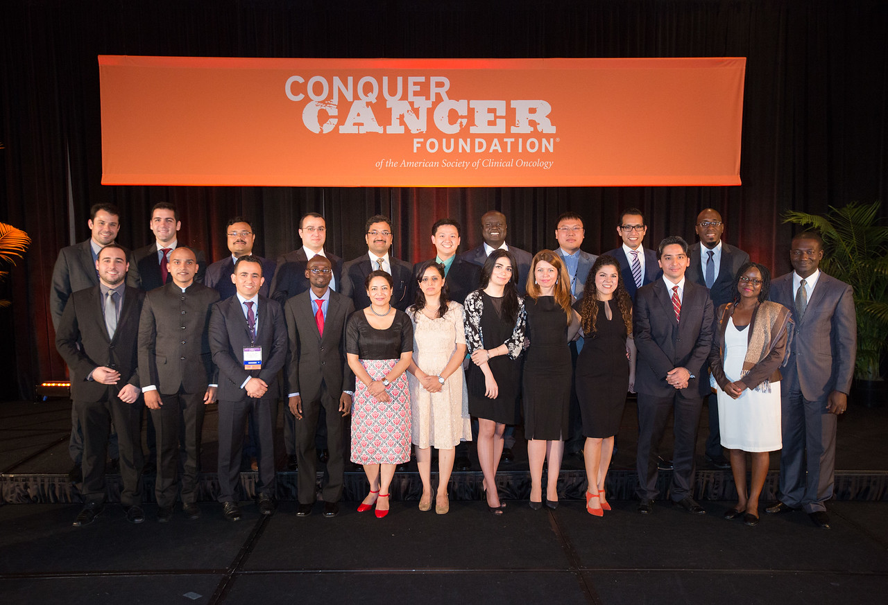 2016 IDEA Recipients during 2016 Conquer Cancer Foundation Grants and Awards Ceremony