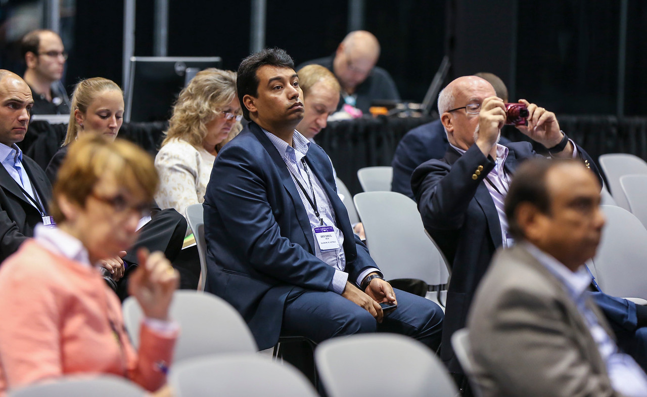 General views during Industry Expert Theater - Takeda Oncology presentation