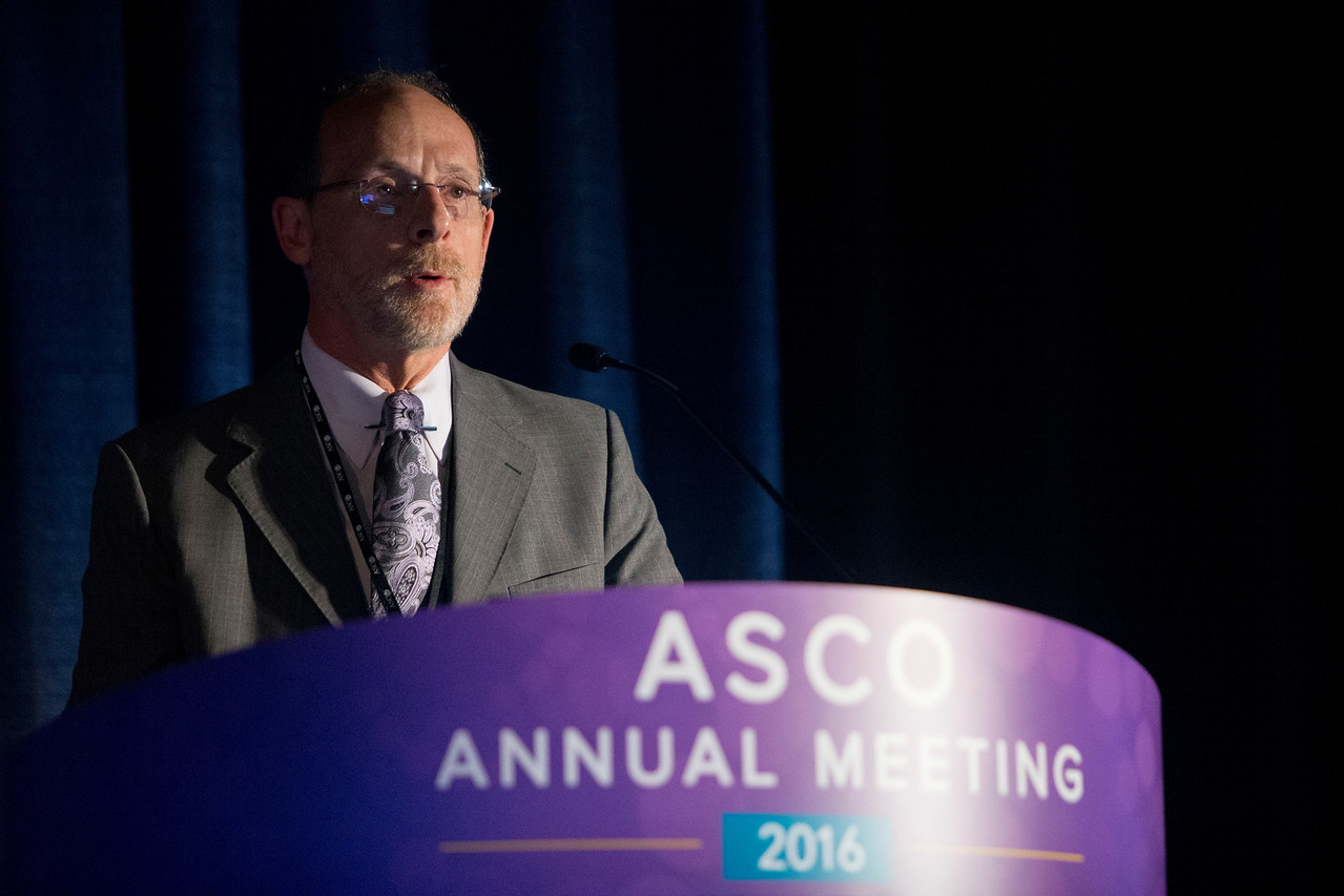 David M. Brizel, MD, speaks during Integrating Immune Checkpoint Inhibitors and Targeted Agents With Surgery and Radiotherapy for Patients With Head and Neck Cancer