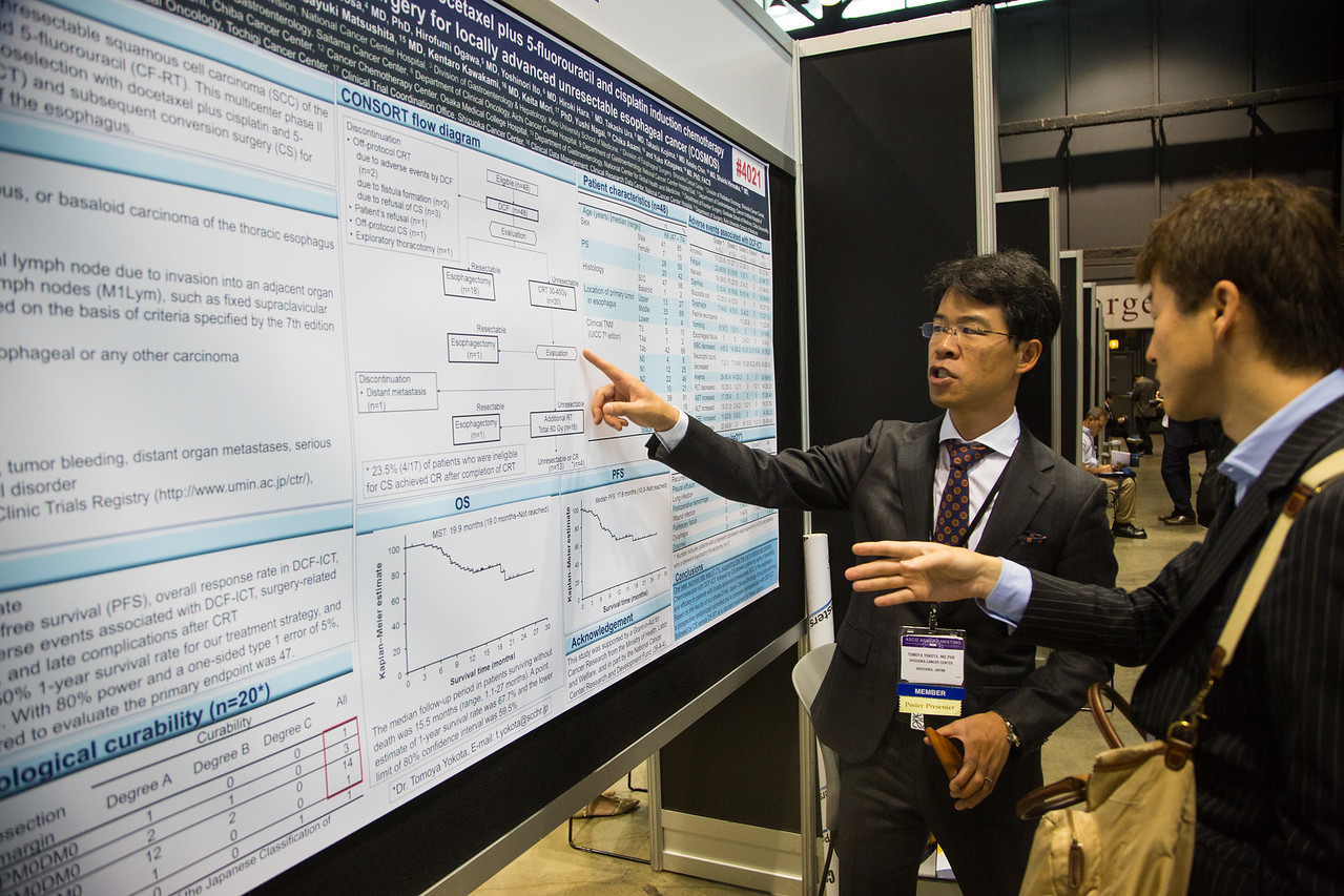 General views during Gastrointestinal (Colorectal) Cancer Poster Session