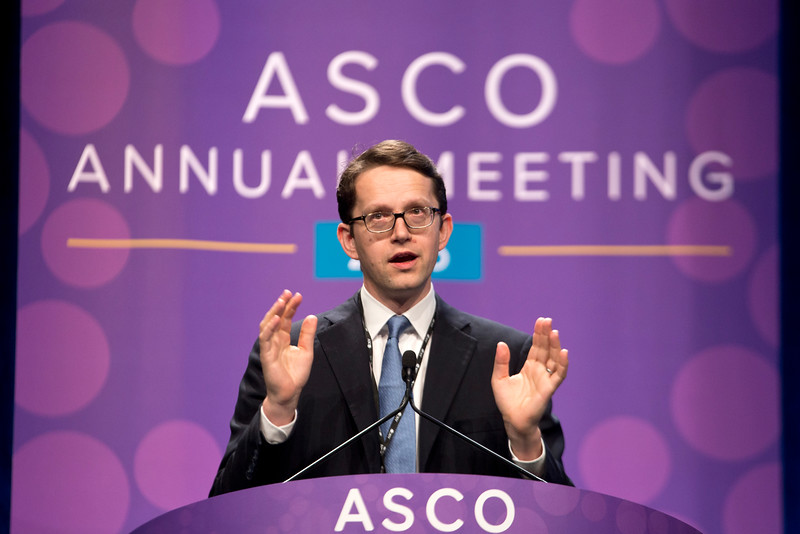 Nicholas C. Turner, MD, presents Abstract 512 during Future Directions in Breast Cancer Treatment: New Drugs, New Markers
