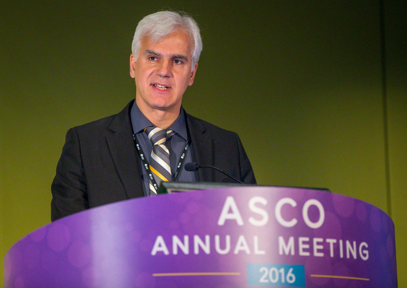 "Balazs Halmos, MD, presents ""Targeted Therapies and Molecular Targets: The Future of Lung Cancer Therapy"" during Precision Medicine: Making Progress for Patient Benefit"