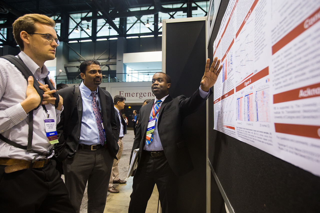 General views during Lung Cancer Non-small Cell Metastatic Poster Session