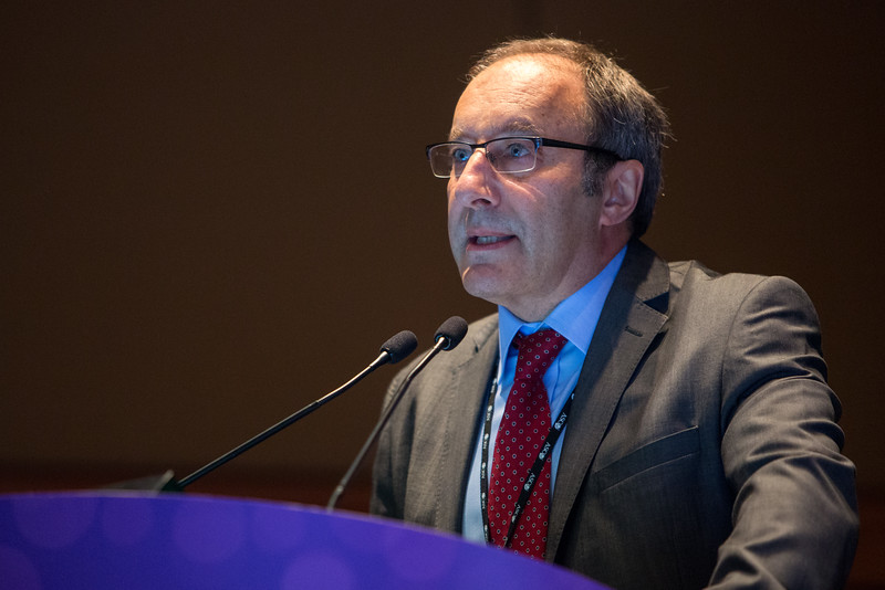 Jonathan A. Ledermann, MD, FRCP, discusses Abstract 5501 during Gynecologic Cancer Oral Abstract Session