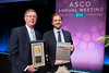 C. Kent Osborne, MD, FASCO, and Carmine De Angelis, MD, during the Gianni Bonadonna Breast Cancer Award and Lecture