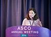 Susan Cohn, MD, delivering Pediatric Oncology Lecture during Pediatric Oncology Award and Lecture