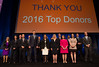 CCF Top Donors during Opening Session