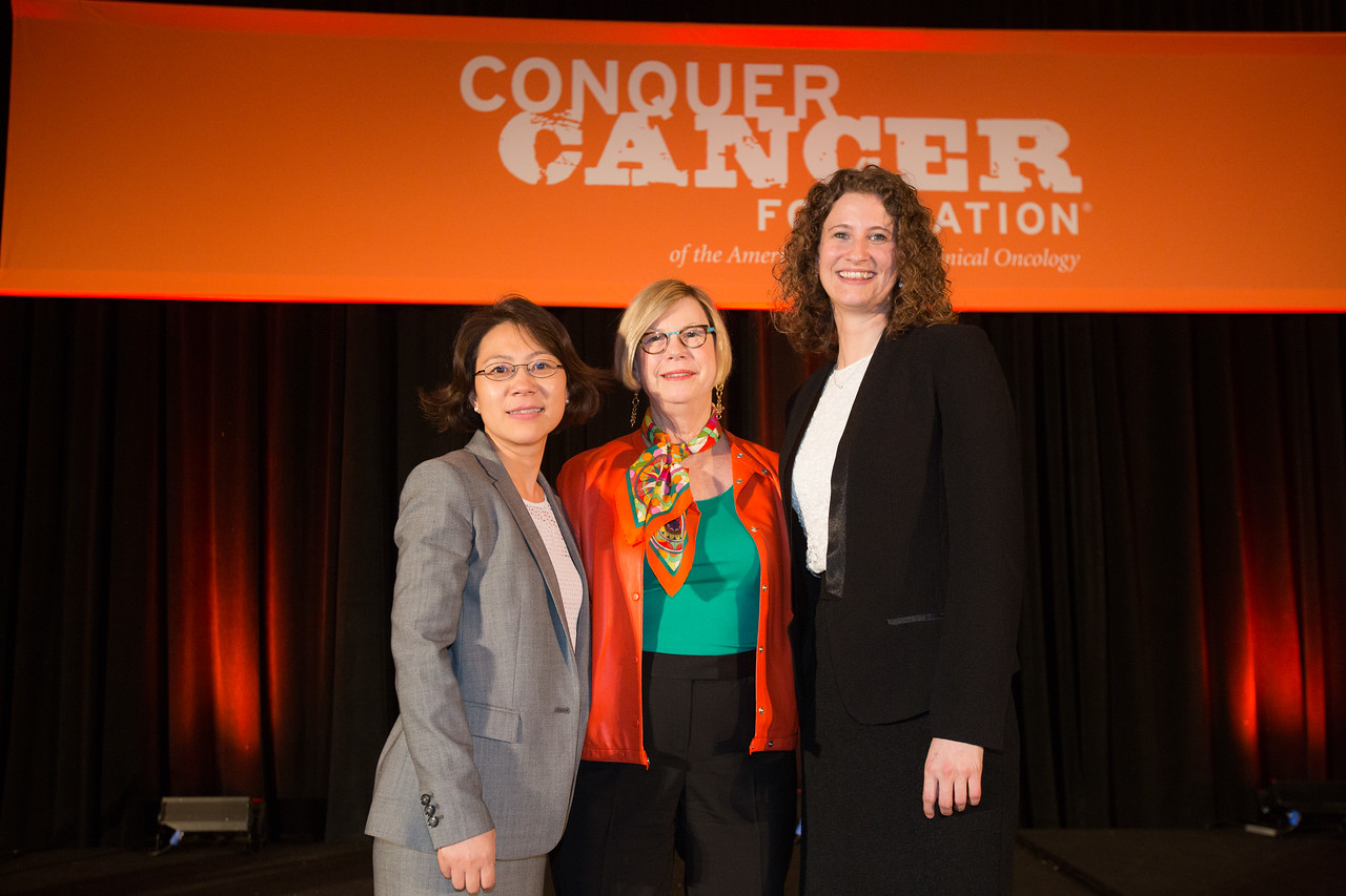2016 Young Investigator Award Recipients during 2016 Conquer Cancer Foundation Grants and Awards Ceremony
