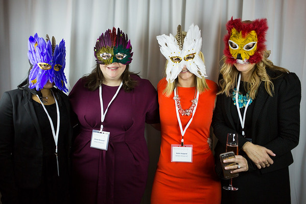 Photos of event attendees during Women Leaders in Oncology Event