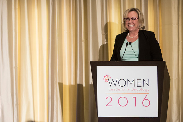 Shawn Cline Tomasello, Chief Commercial Officer, KITE Pharma during Women Leaders in Oncology Event