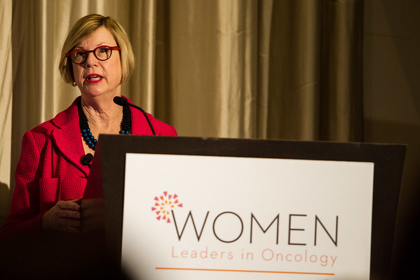 Sandra M. Swain, MD, FASCO, Chair of the Women Who Conquer Cancer during Women Leaders in Oncology Event