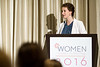 Amanda Redig, MD, PhD, recipient of the 2016 Women Who Conquer Cancer Young Investigator Award during Women Leaders in Oncology Event