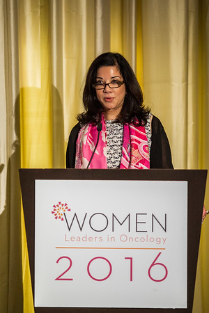 Deanna van Gestel, The Vaniam Group during Women Leaders in Oncology Event