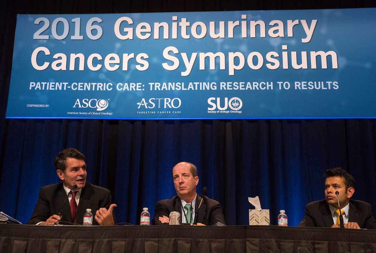 Bernard J. Escudier, MD, presenting Abstract 499 - Oral Abstract Session C: Renal Cell Cancer