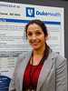 """Kathryn Hutchins, BA, Duke University, during Abstract #122, """"The availability/accessibility gap of palliative care and supportive care services at 40 National Cancer Institute-designated cancer centers,"""""""