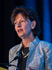 Lynn Mara Schuchter, MD, speaks during Welcome and General Session 1: Challenges of Immunotherapeutics