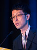 Takashi Yamaguchi, MD, PhD, speaks during Oral Abstract Session A