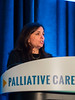 Jennifer S. Temel, MD, speaks during Welcome and General Session 1: Challenges of Immunotherapeutics