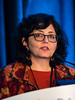Smita Bhatia, MD, MPH, speaks during Keynote Lecture: Science on Long-term Toxicity in Pediatric Oncology