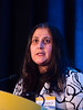 Areej El-Jawahri, MD, speaks during Oral Abstract Session A
