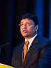 "Sriram Yennu, MD, MS, The University of Texas MD Anderson Cancer Center, presenting Abstract #5, ""Perception of curability in an international cohort of advanced cancer patients receiving palliative care,"" during Oral Abstract Session B"