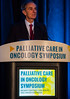 Eduardo Bruera, MD, speaks during General Session 6: Conundrums and Controversies in the Care of Patients with Advanced Cancer