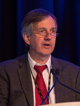 Robert Miller, MD giving an update on ASCO's big data initiative, CancerLinQ, during CancerLinQ Update