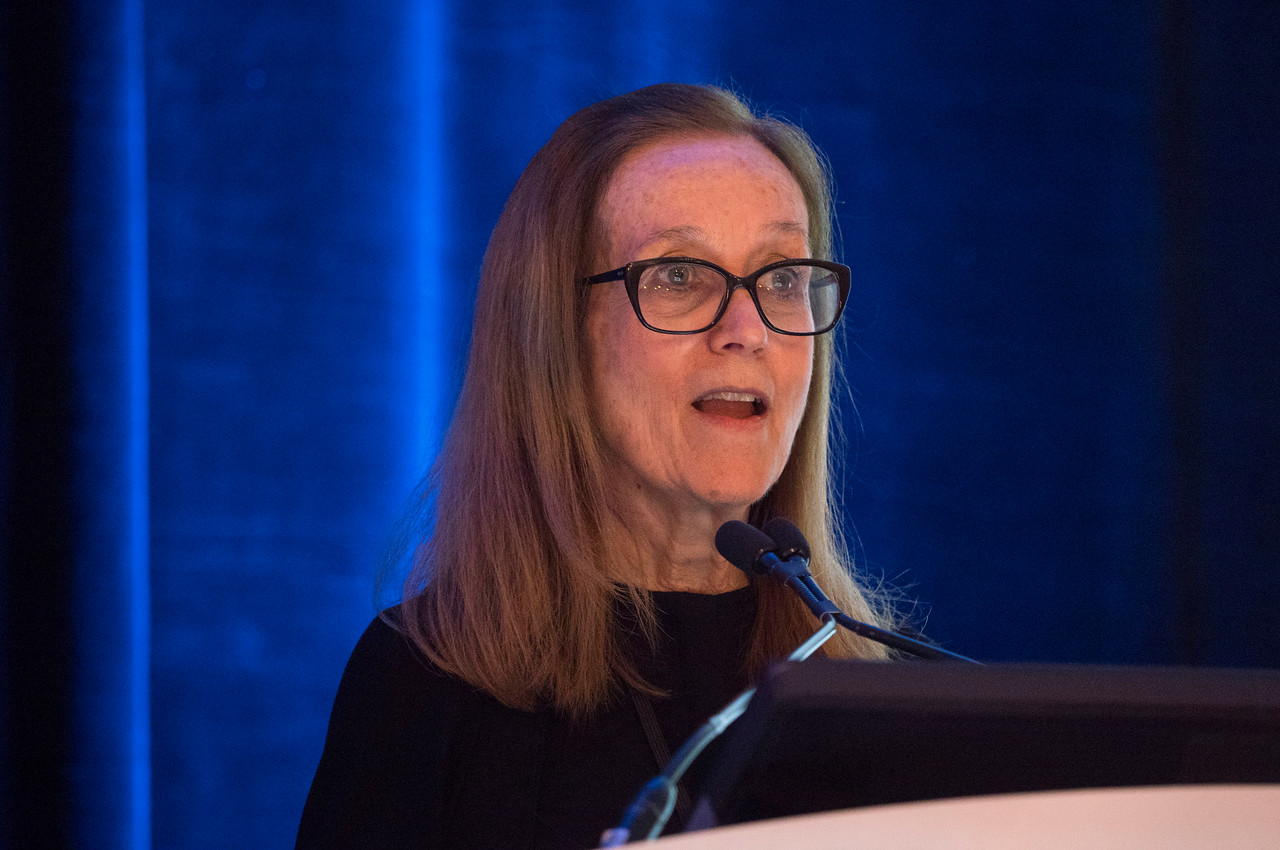 Mary S. McCabe, RN, MA speaks - General Session 1: Risk-Based Health Care of Cancer Survivors in the 21st Century