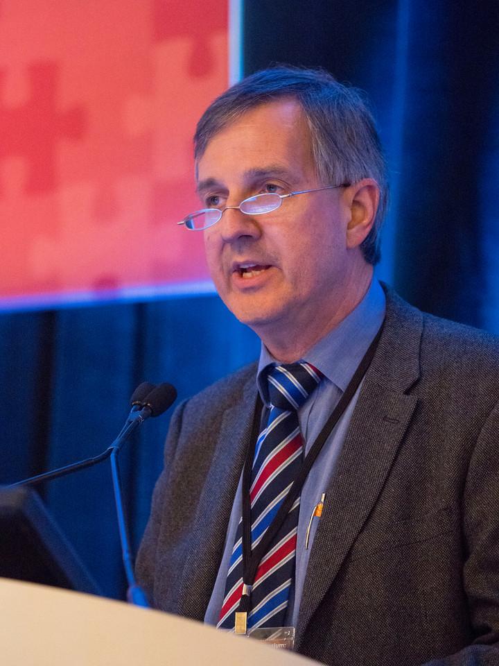 Dr. Robert Miller speaks  - General Session 4: Communication and Coordination of Survivorship Care