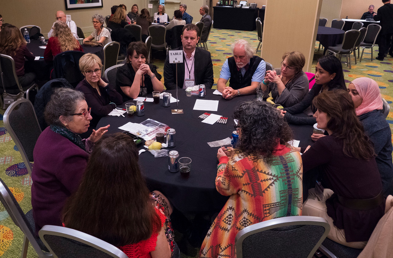 Attendees share their stories - LIFe Café