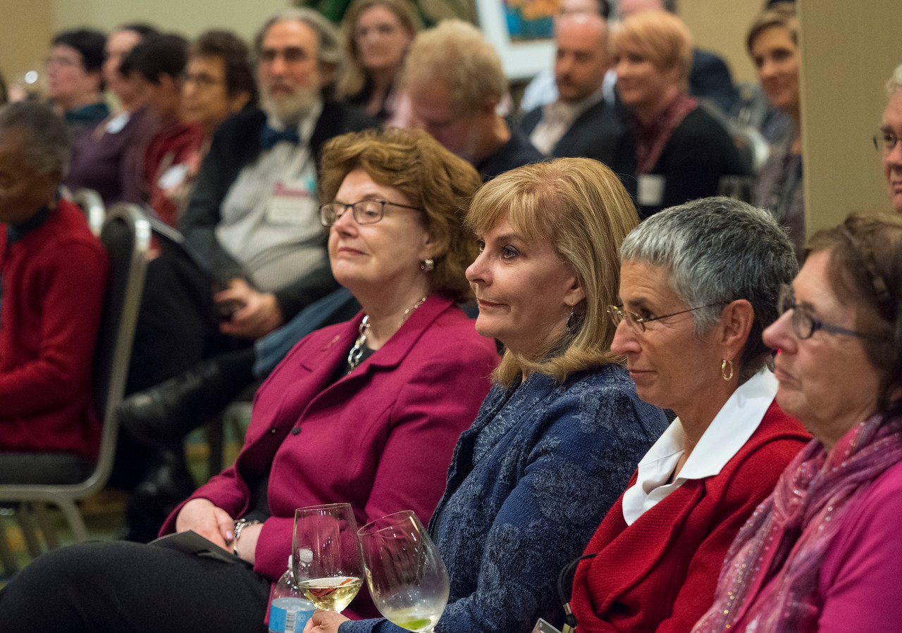 Attendees at An Evening for Cancer Survivors and Caregivers