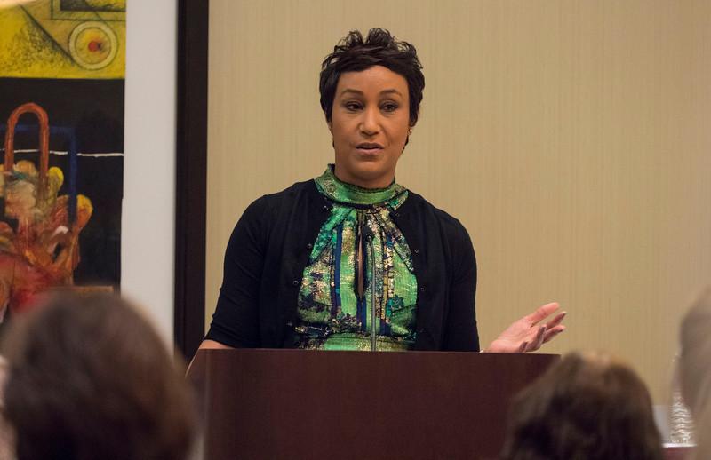 Desiree Rogers, a cancer survivor, speaks - An Evening for Cancer Survivors and Caregivers