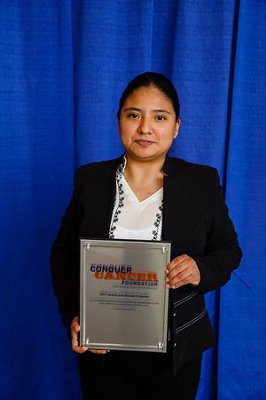 2017 IDEA Recipient Sandra Ileana Perez Alvarez, MD, during 2017 Grants & Awards Ceremony and Reception