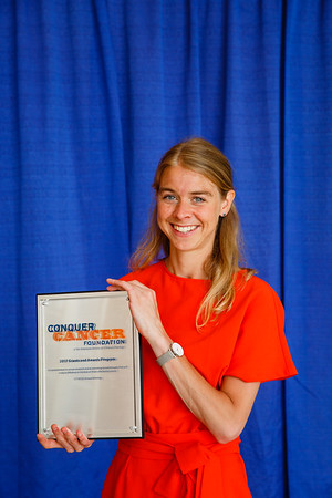 Allen S. Lichter MD Endowed Merit Award Recipient Mette van Ramshorst, MD during 2017 Grants & Awards Ceremony and Reception