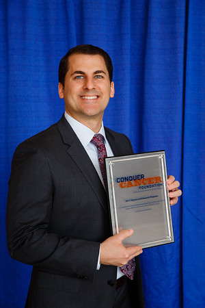 2017 Young Investigator Award Recipient Jonathan Iaccarino, MD during 2017 Grants & Awards Ceremony and Reception