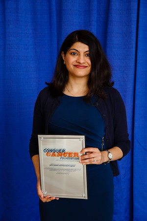 2017 Young Investigator Award Recipient Surbhi Sidana, MD during 2017 Grants & Awards Ceremony and Reception