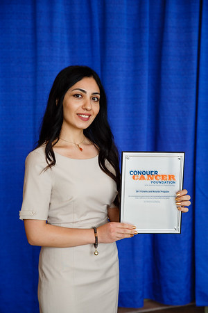 2017 IDEA Recipient Zulfiyya Imamguliyeva, MD, during 2017 Grants & Awards Ceremony and Reception