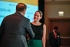 2017 CDA Recipient Melissa Accordino, MD with Thomas G. Roberts, Jr., MD, Chair of the Conquer Cancer Foundation Board of Directors, during 2017 Grants & Awards Ceremony and Reception