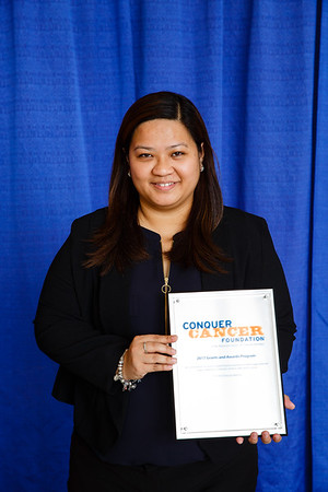 2017 IDEA Recipient Maria Diana Aileen Chua Bautista, MD during 2017 Grants & Awards Ceremony and Reception