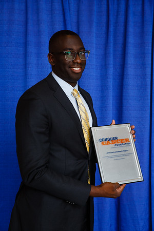 2017 Resident Travel Award Recipient Frederick Doamekpor, MD during 2017 Grants & Awards Ceremony and Reception